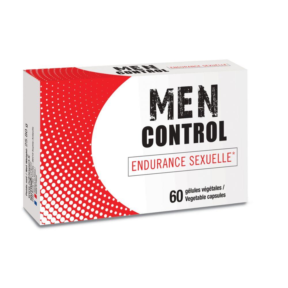 Aphrodisiaque Masculin Men Control 60 Gélules Végétales