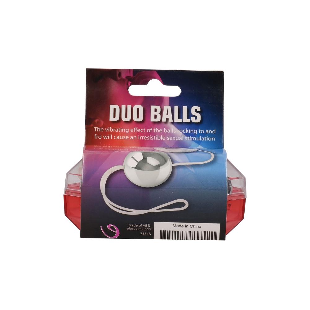 Boules de Geisha Argentées Metal Balls