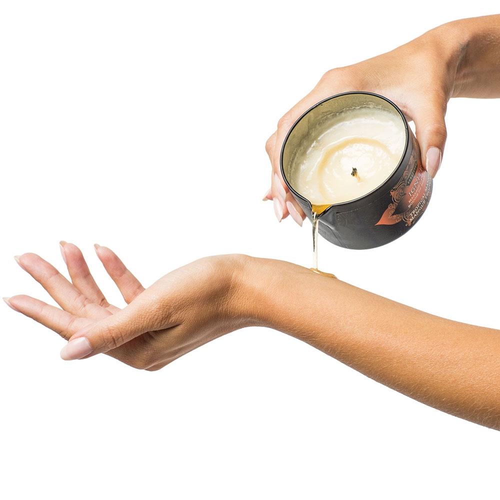 Bougie de Massage Amande Douce Ignite