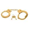 Menottes Dorées Metal Cuffs Fetish Fantasy Gold