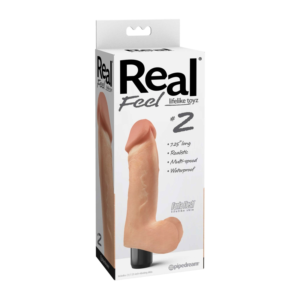 Vibromasseur Real Feel Lifelike Toyz N°2