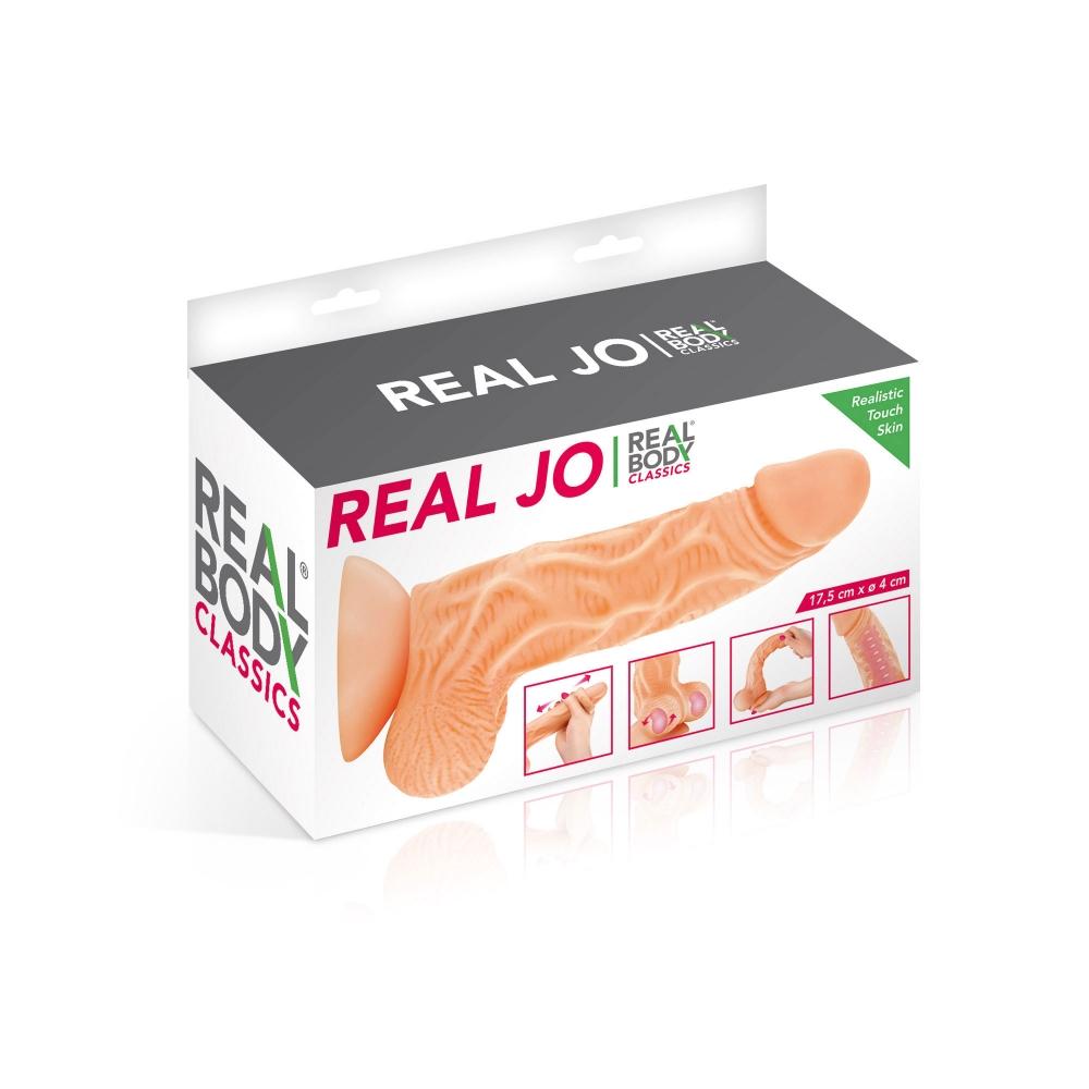 Gode Ventouse Réaliste Real Jo