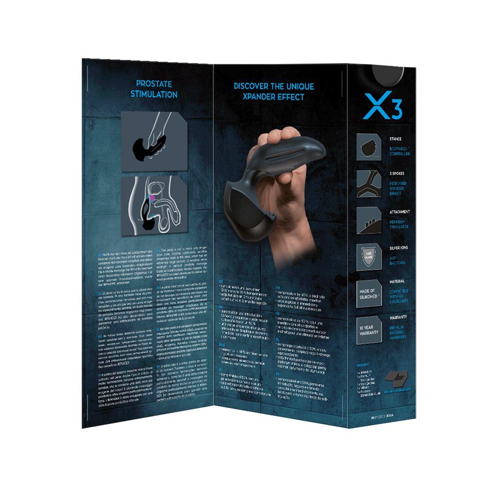 Stimulateur Prostatique XPANDER X3 Medium