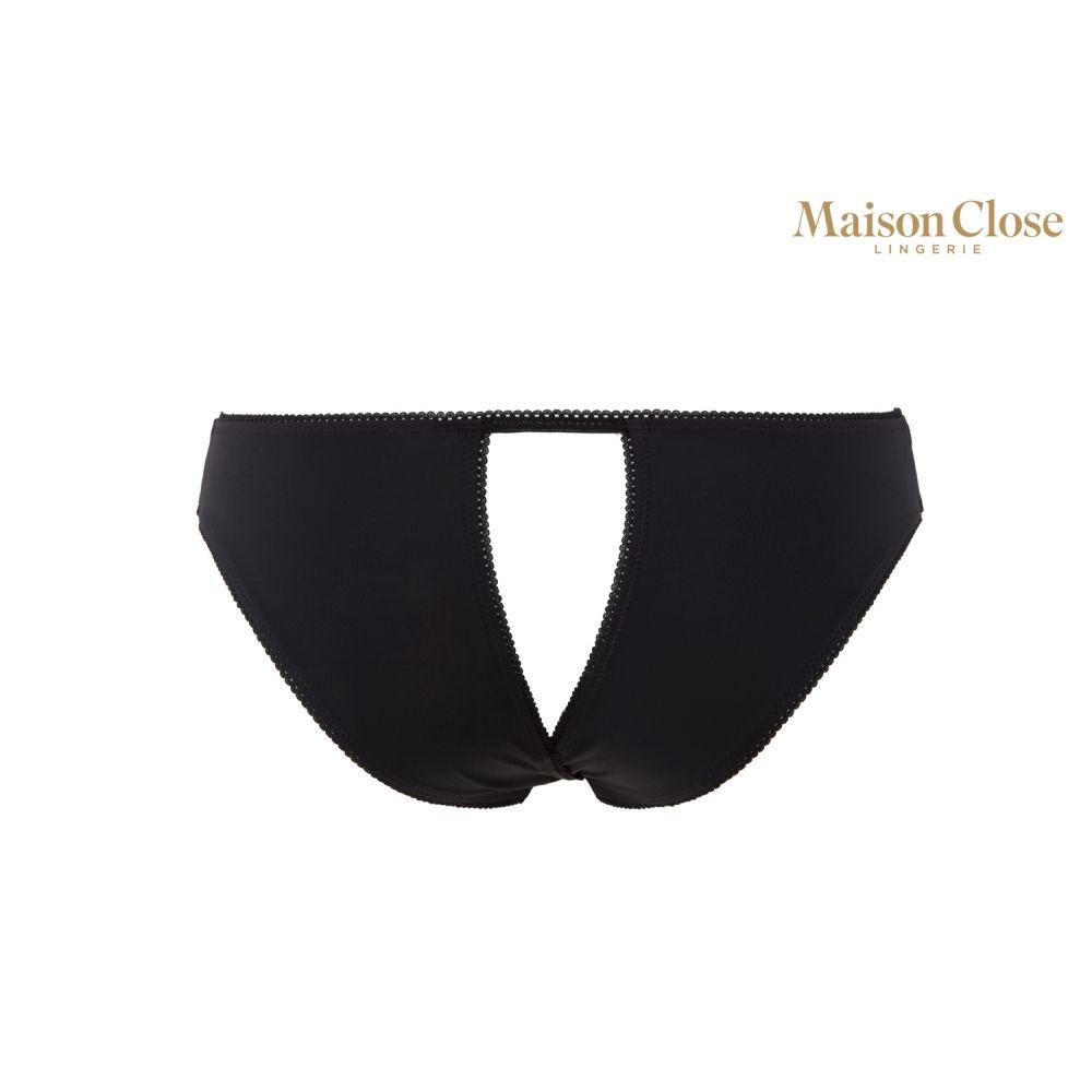 Culotte Ouverte Noire Le Petit Secret