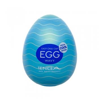 Masturbateur Egg Cool Wavy