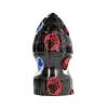 Plug Anal XXL Grenade All Black 15 cm