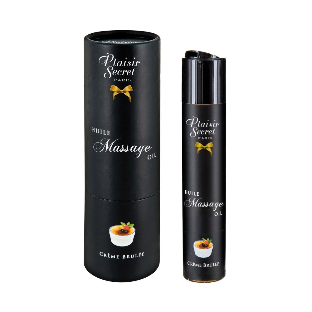 Huile de Massage Gourmande Crème Brûlée