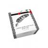 Plug Anal Jewellery Plug Silver Stripe Tail Large