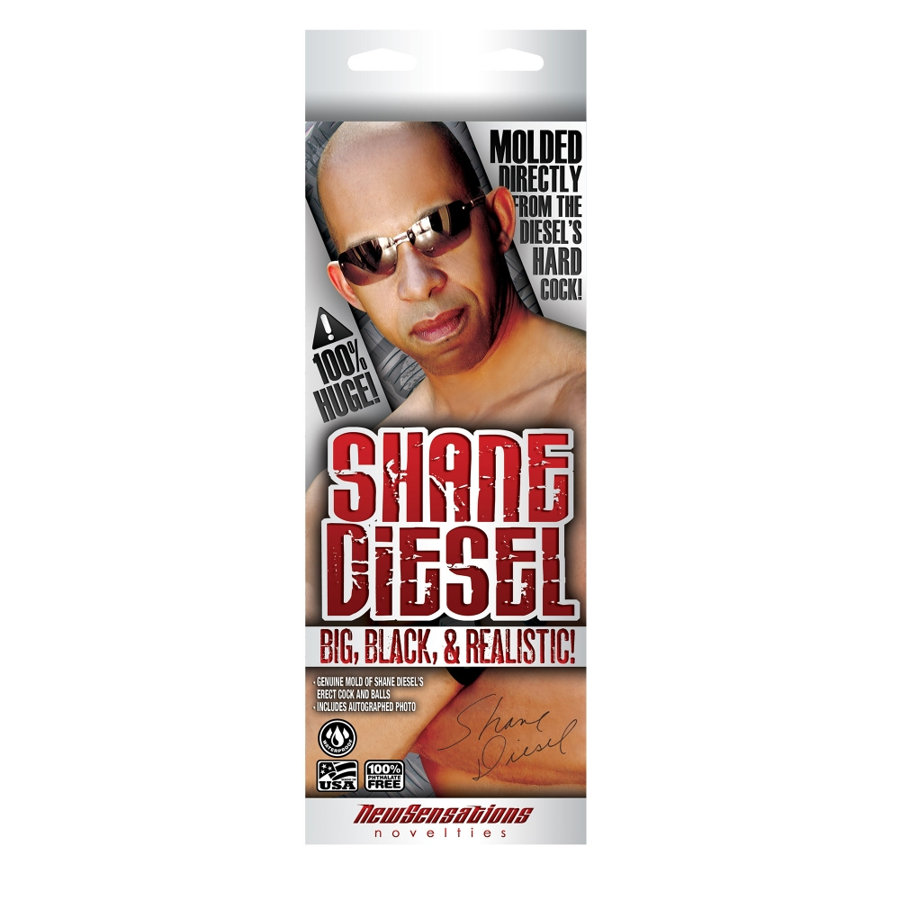 Dildo Ventouse Réaliste Shane Diesel