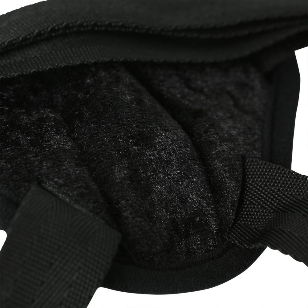 Harnais Noir Vibrant Velvet Strap-On