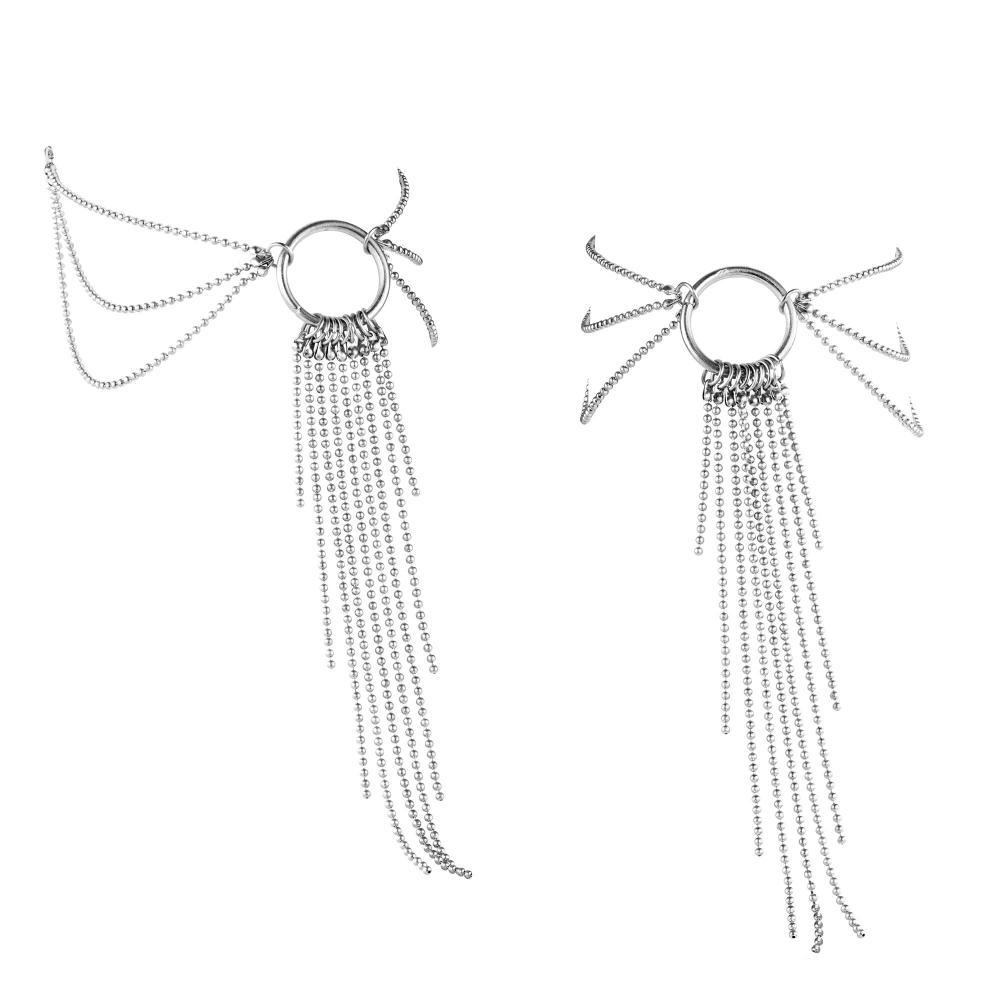 Bijoux de Chevilles en Chaînettes Métalliques Magnifique