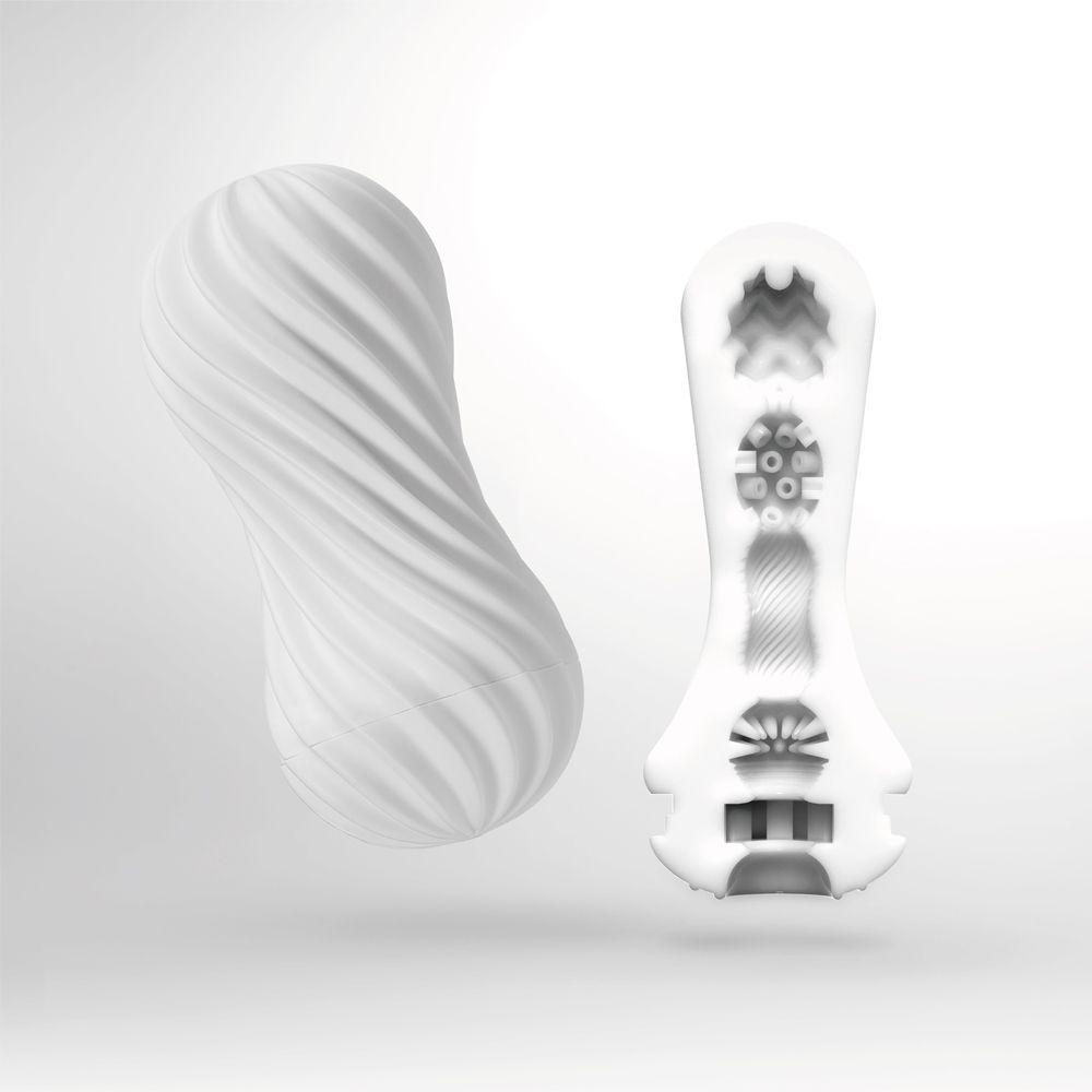 Masturbateur Tenga Flex Silky White