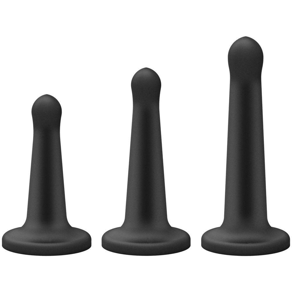 Coffret Gode Ceinture Vac-U-Lock Platinum Pegging Set