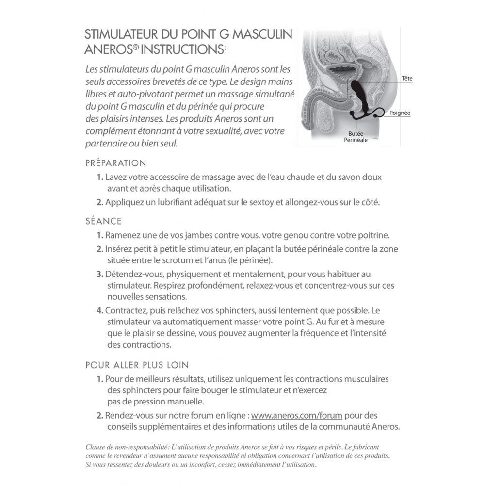 Stimulateur prostatique Maximus Trident