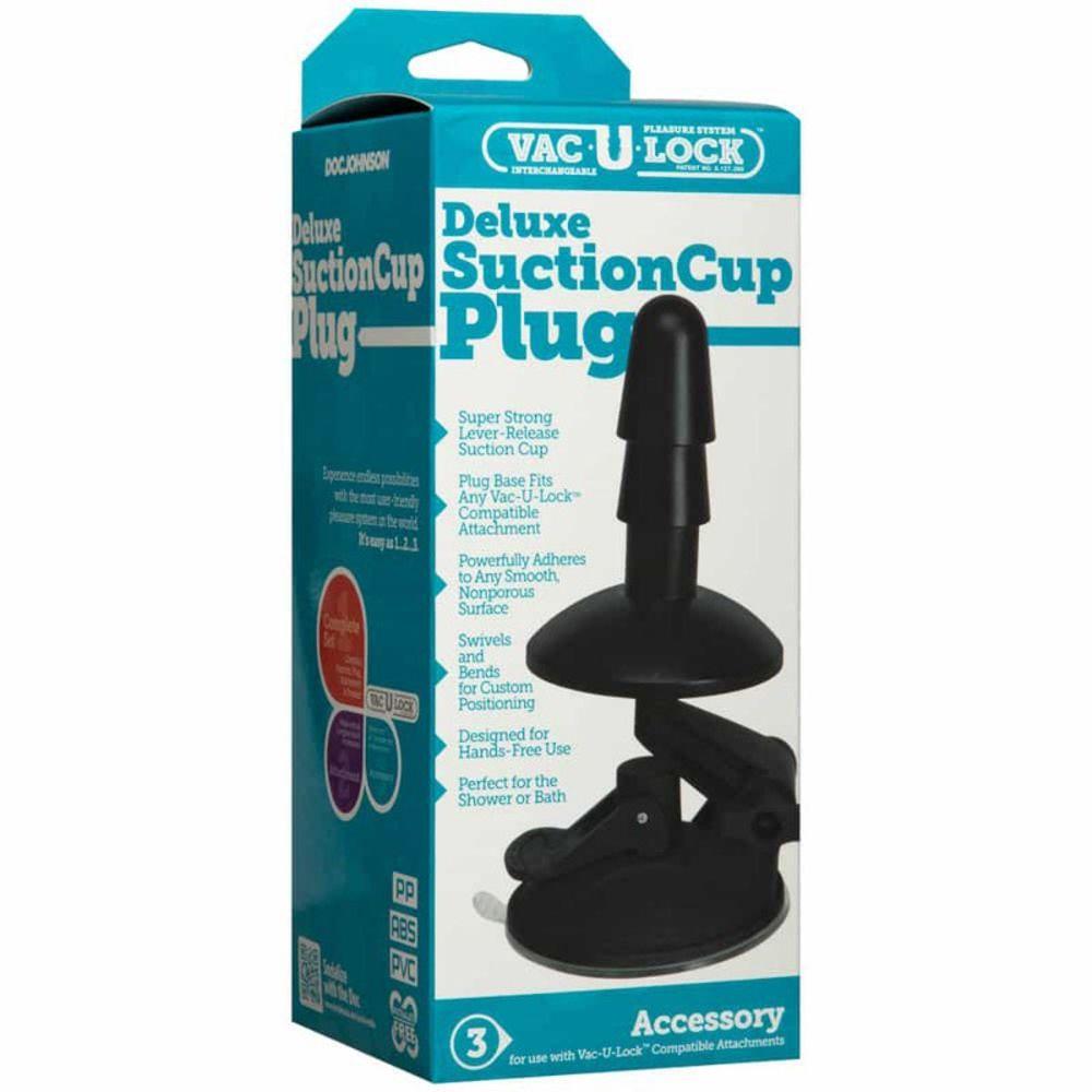 Ventouse Vac-U-Lock Deluxe Suction Cup Plug
